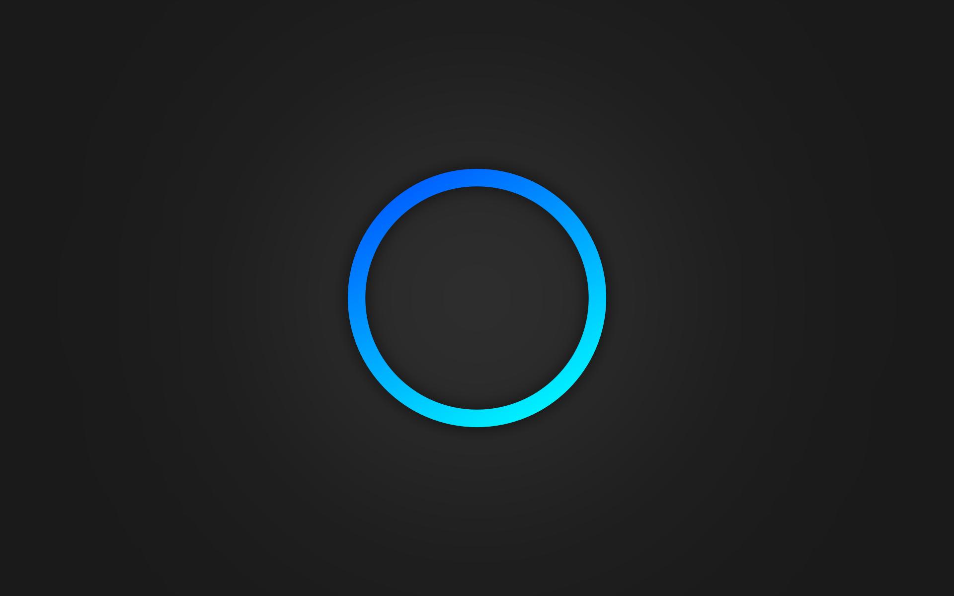 minimalistic ring sony psp circle playstation
