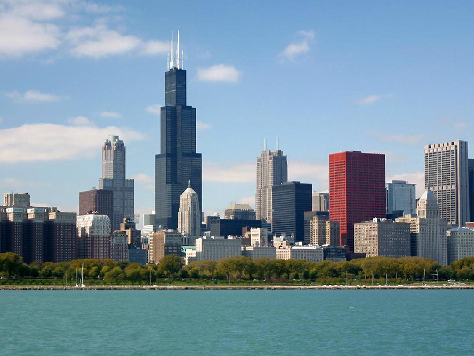beautiful city chicago illinois hd wallpaper