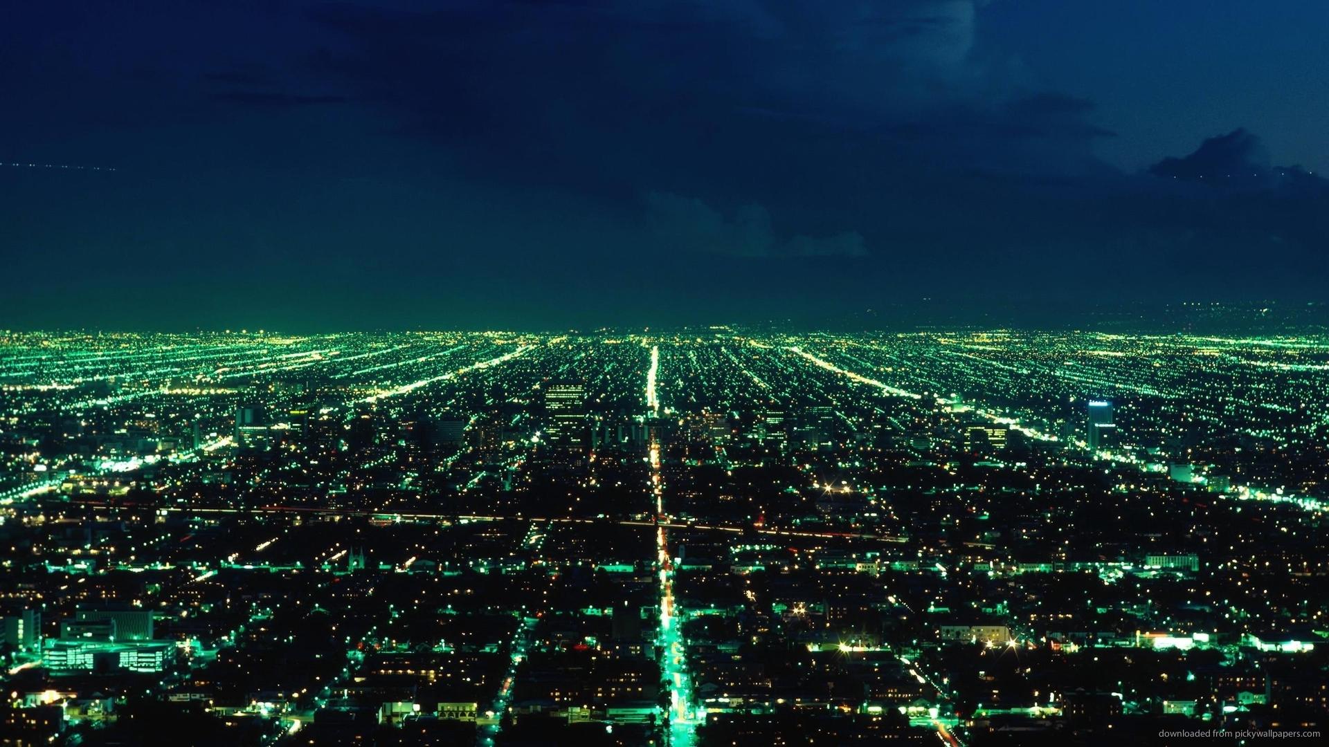 City Lights Green