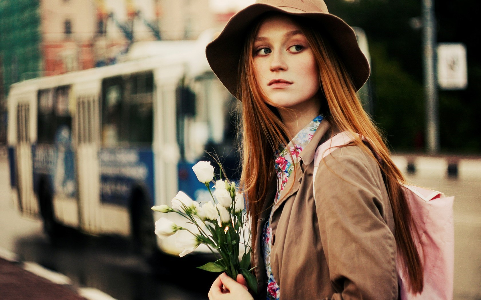 City Girl Flowers Photo