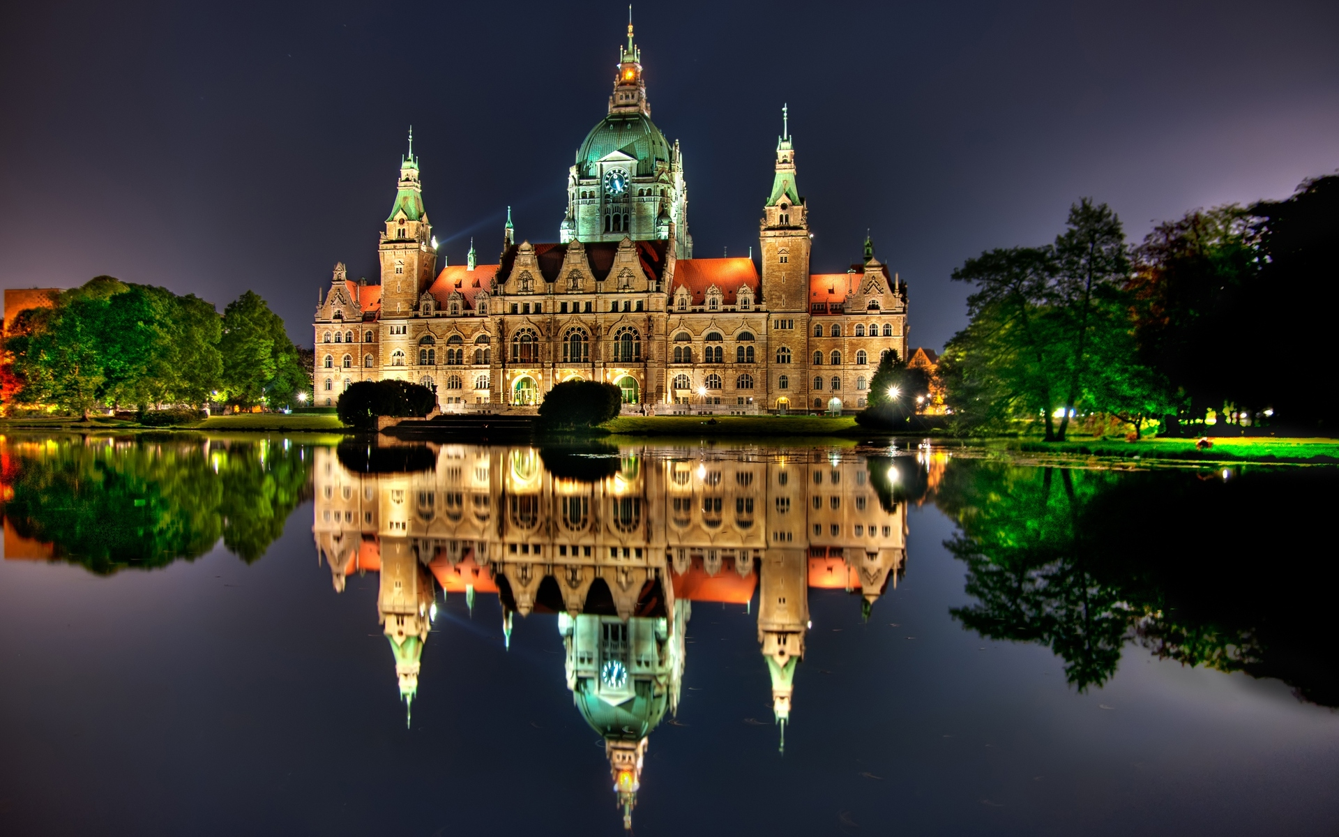 Hanover City Hall Canvas Print