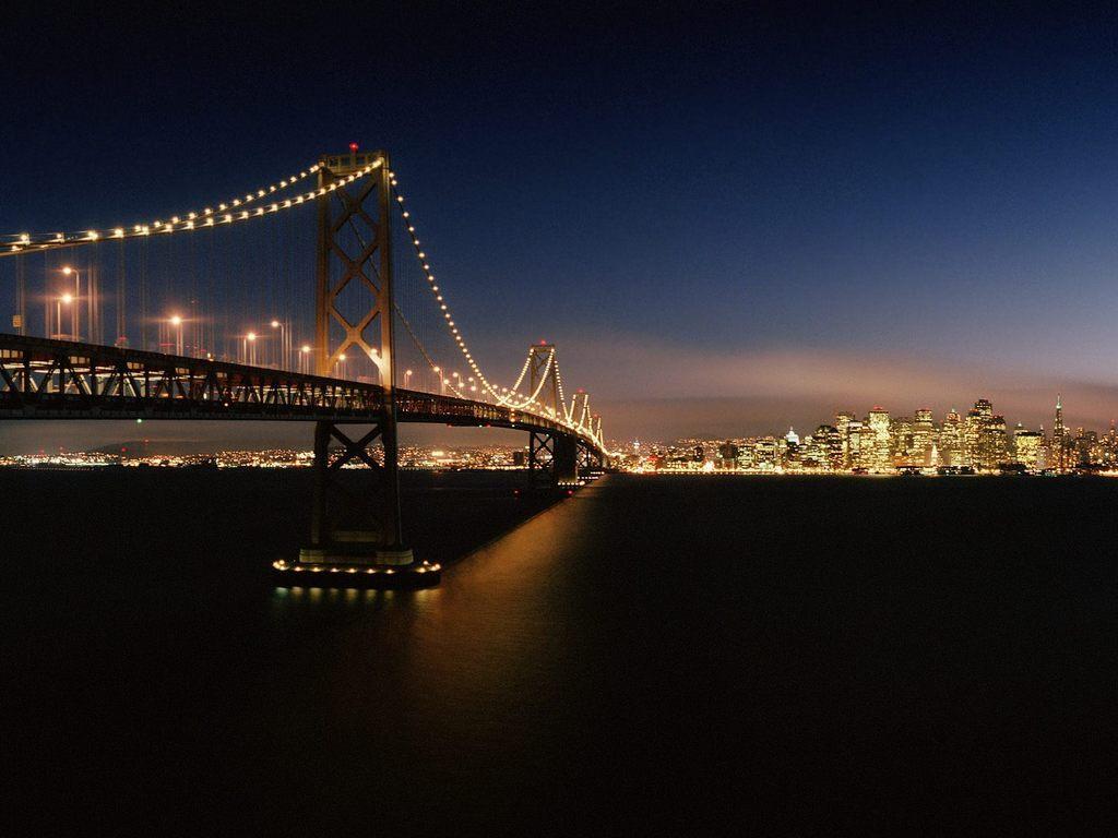 City Lights Bridge Decoration
