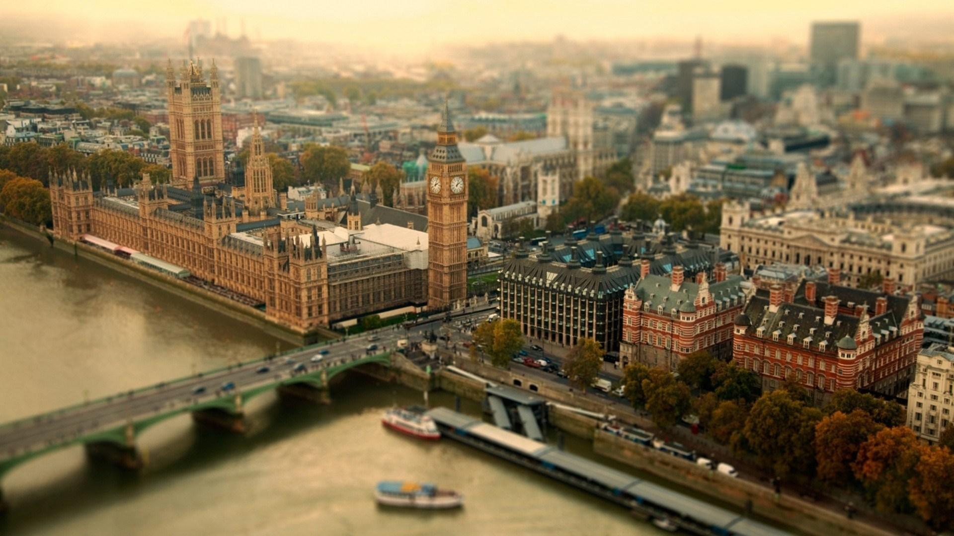 City London UK River Bridge Big Ben Photo