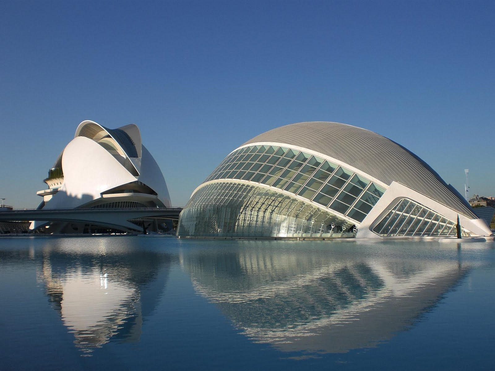 Wallpaper of city of arts and sciences valencia