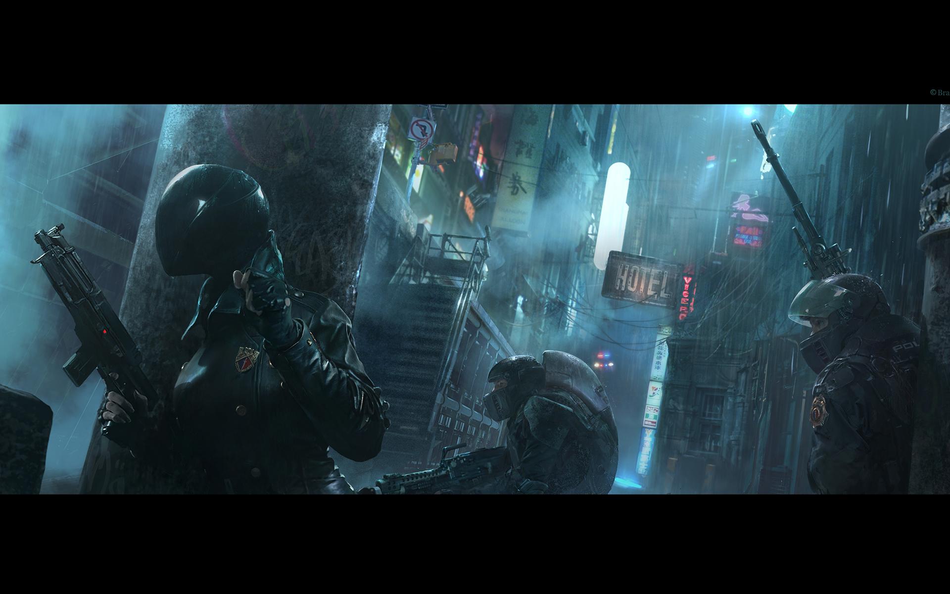Citystate elite troopers