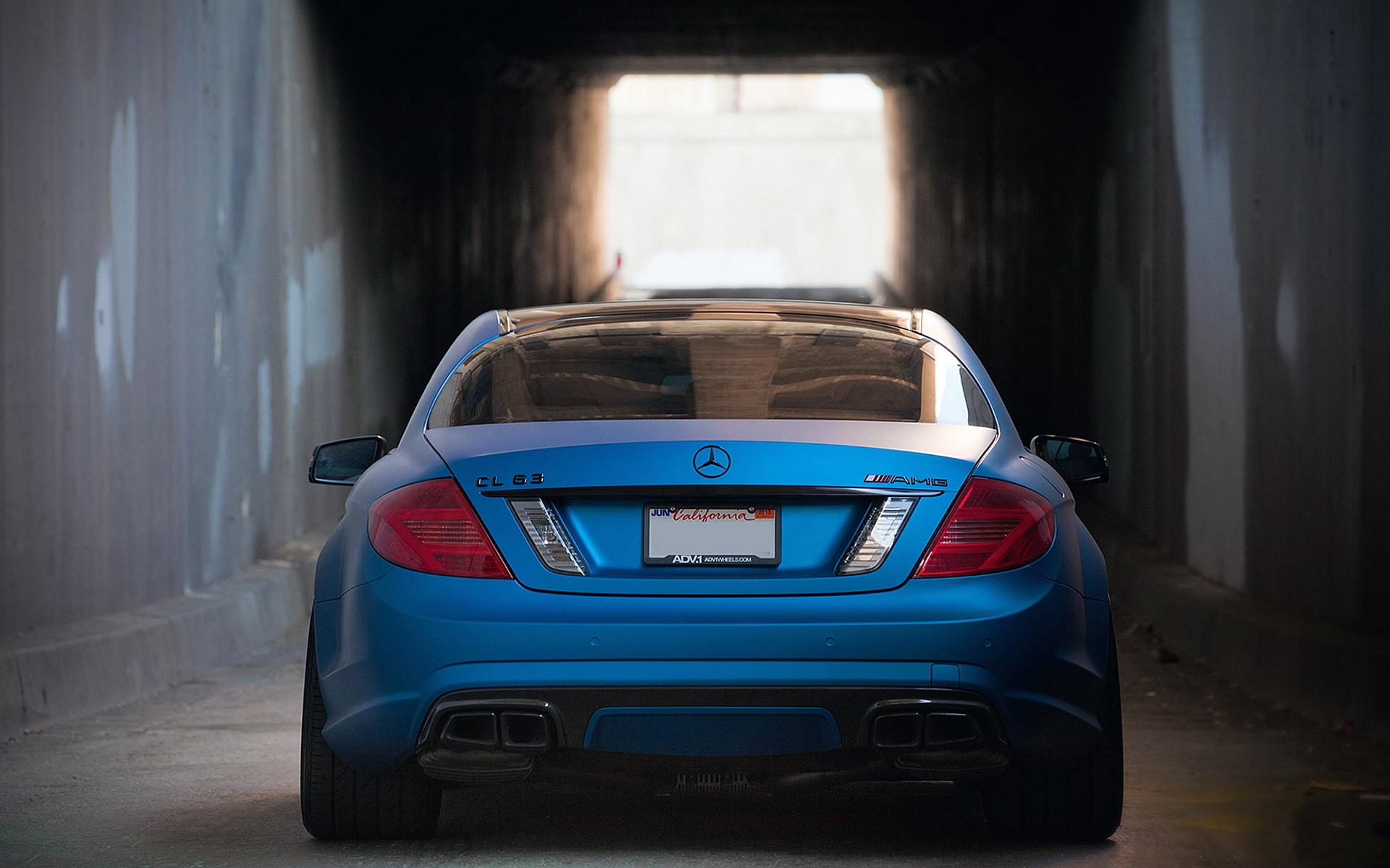 Cl63 amg blue matte