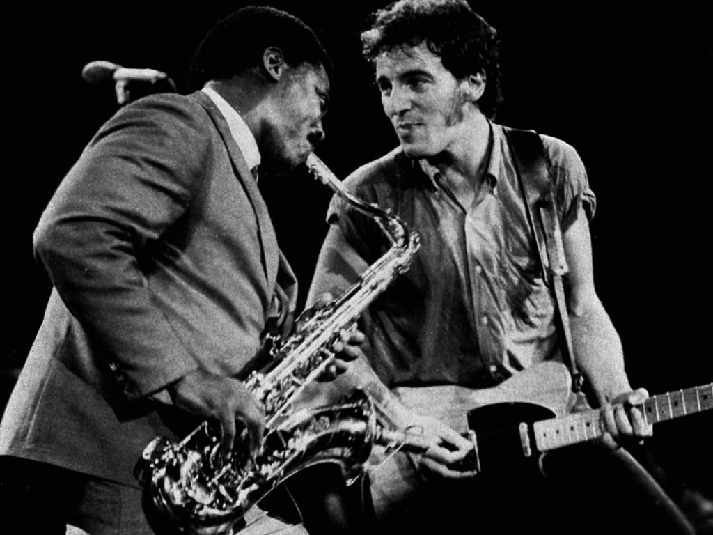 ... Clarence Clemons & Bruce Springsteen, Born to Run version ...