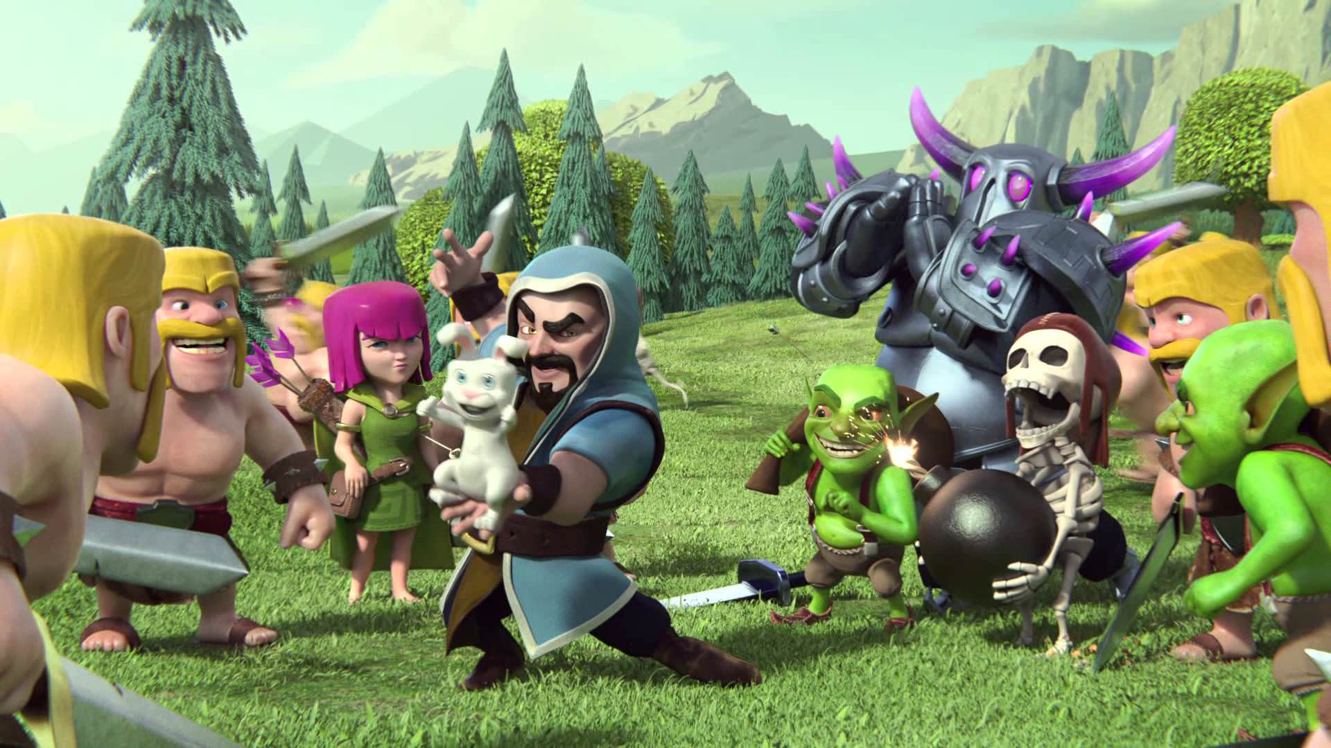 Clash Of Clans Wallpaper