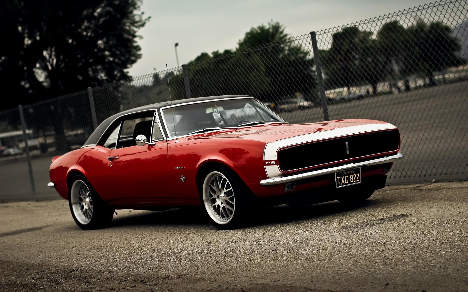 Classic Camaro Hd Background Wallpaper 32 Thumb