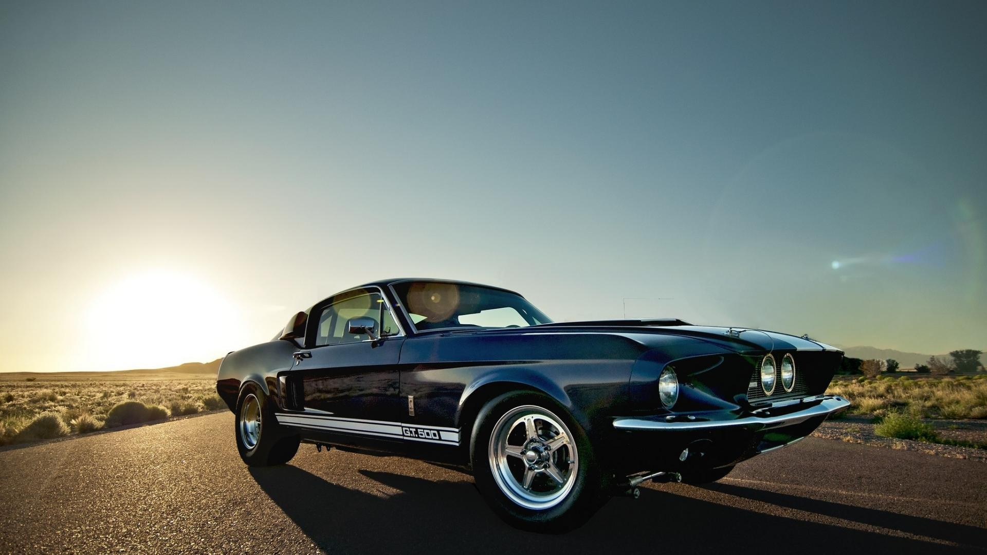 Classic Mustang Background