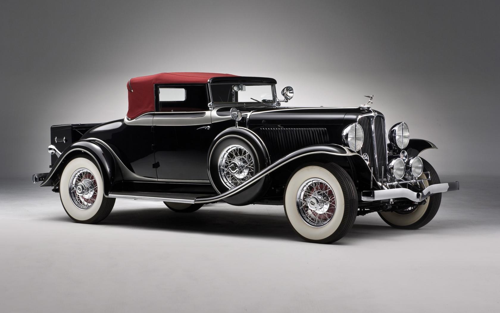old black classic car