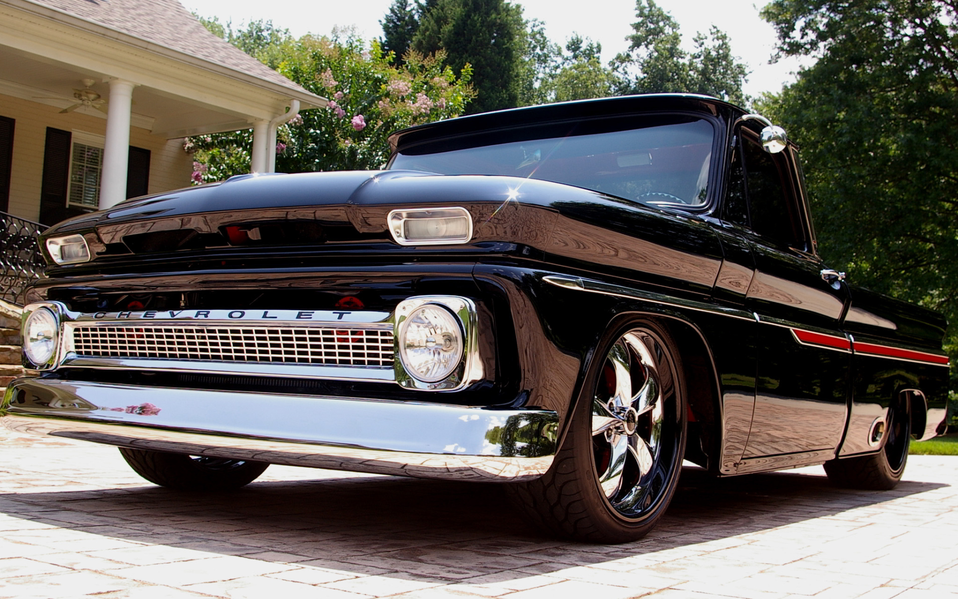 Classic retro chevy pickup