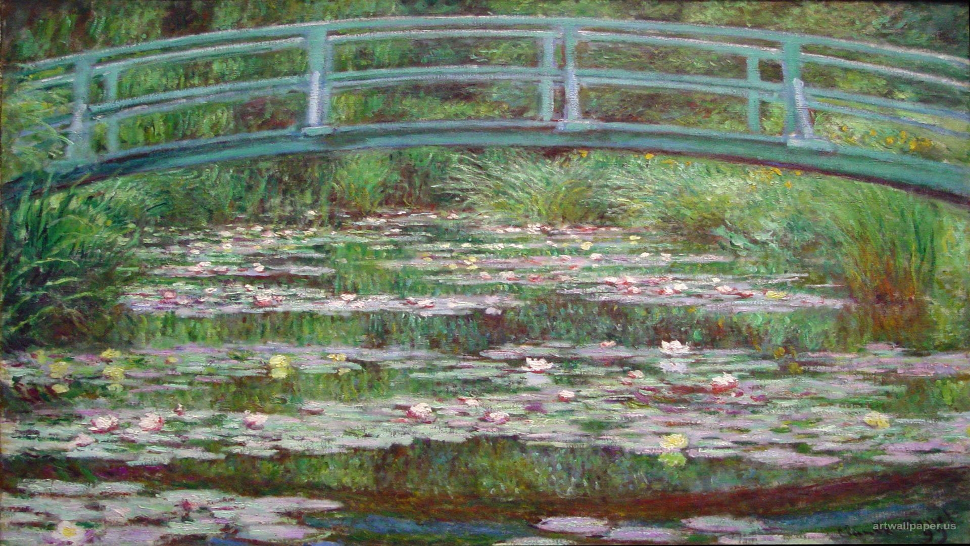 Magritte Claude Monet