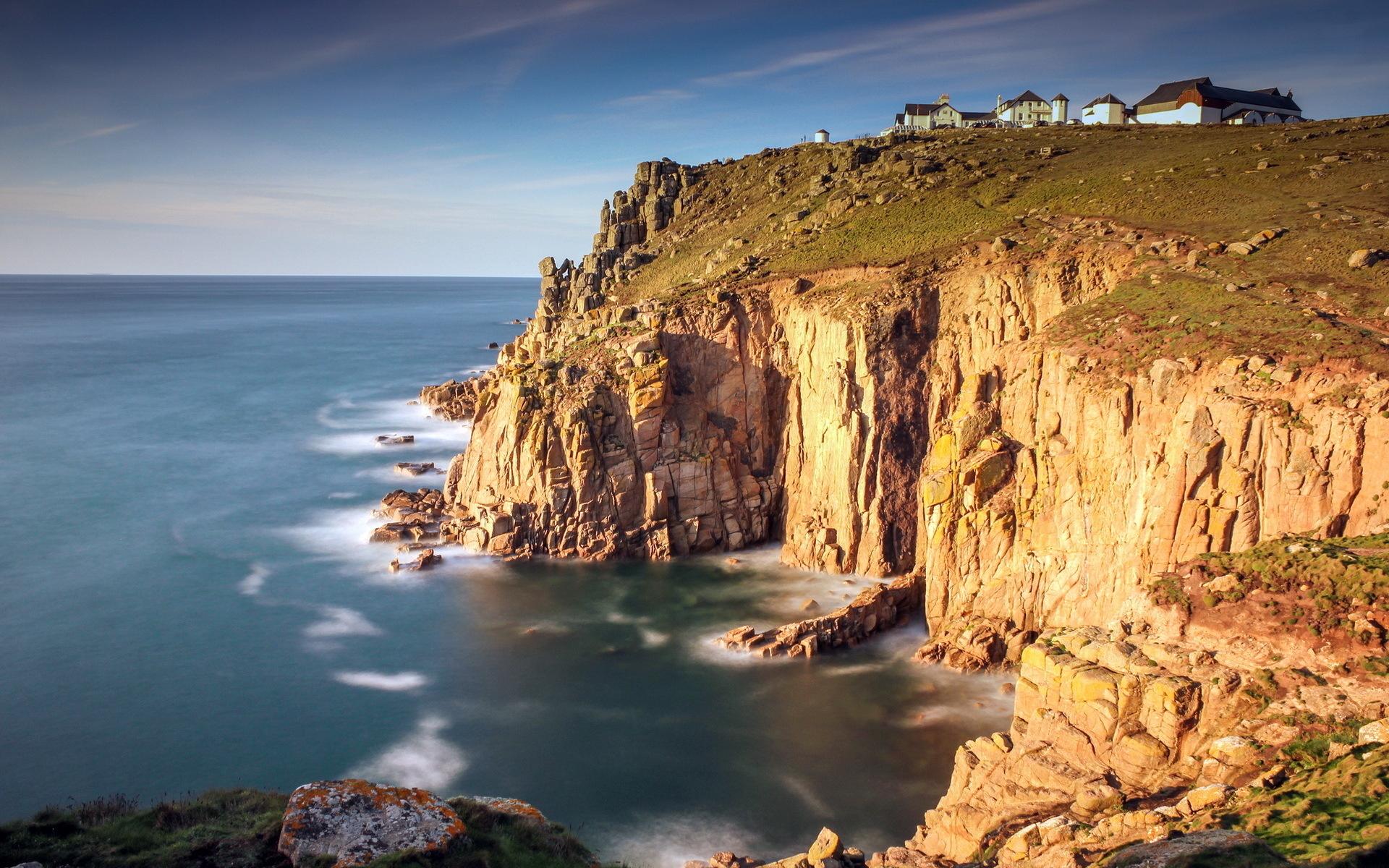 ... Sea Cliff Wallpaper HD ...