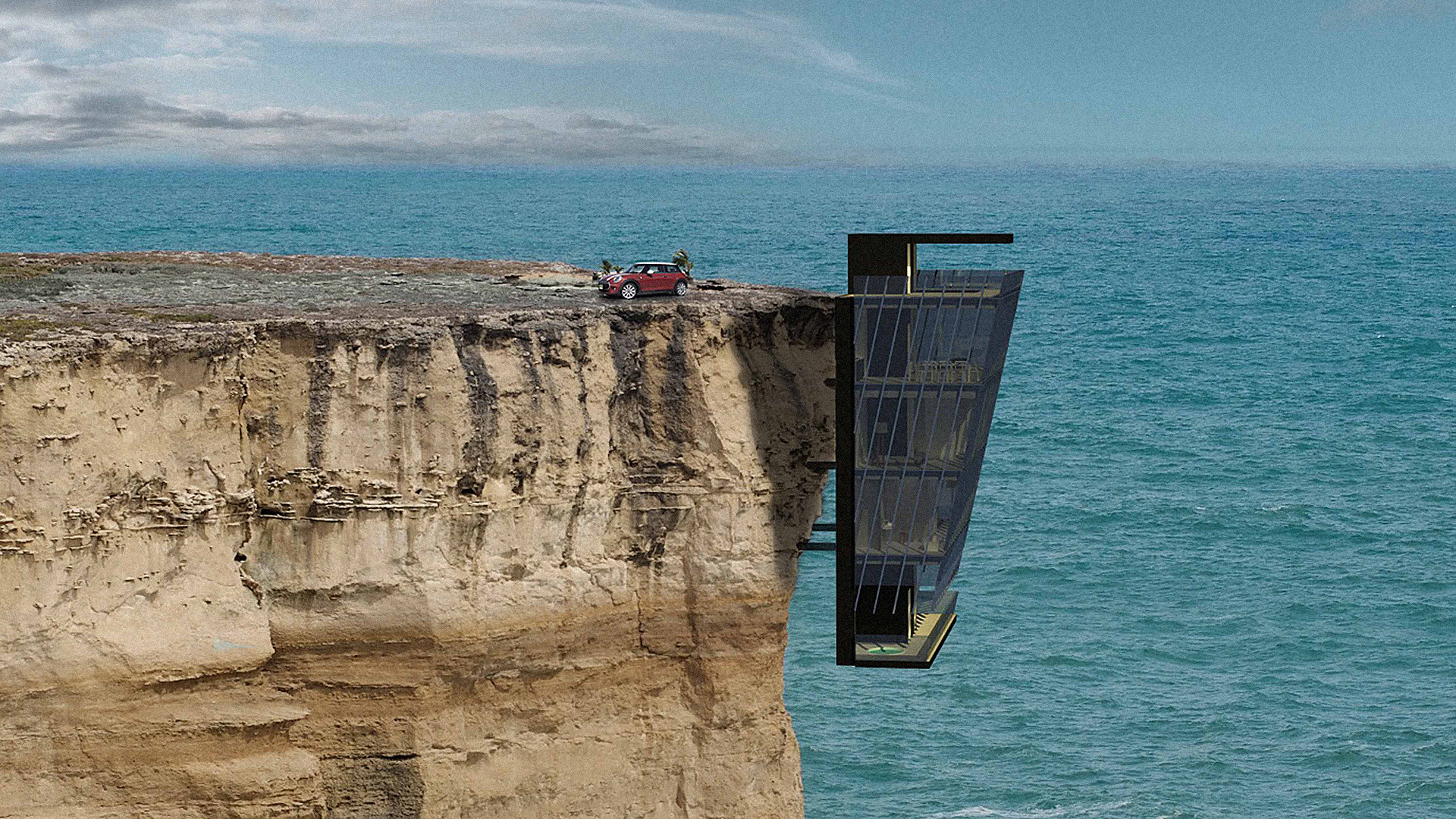 Death-Defying Vacation Home Dangles Off The Side Of A Cliff | Co.Design | business + design