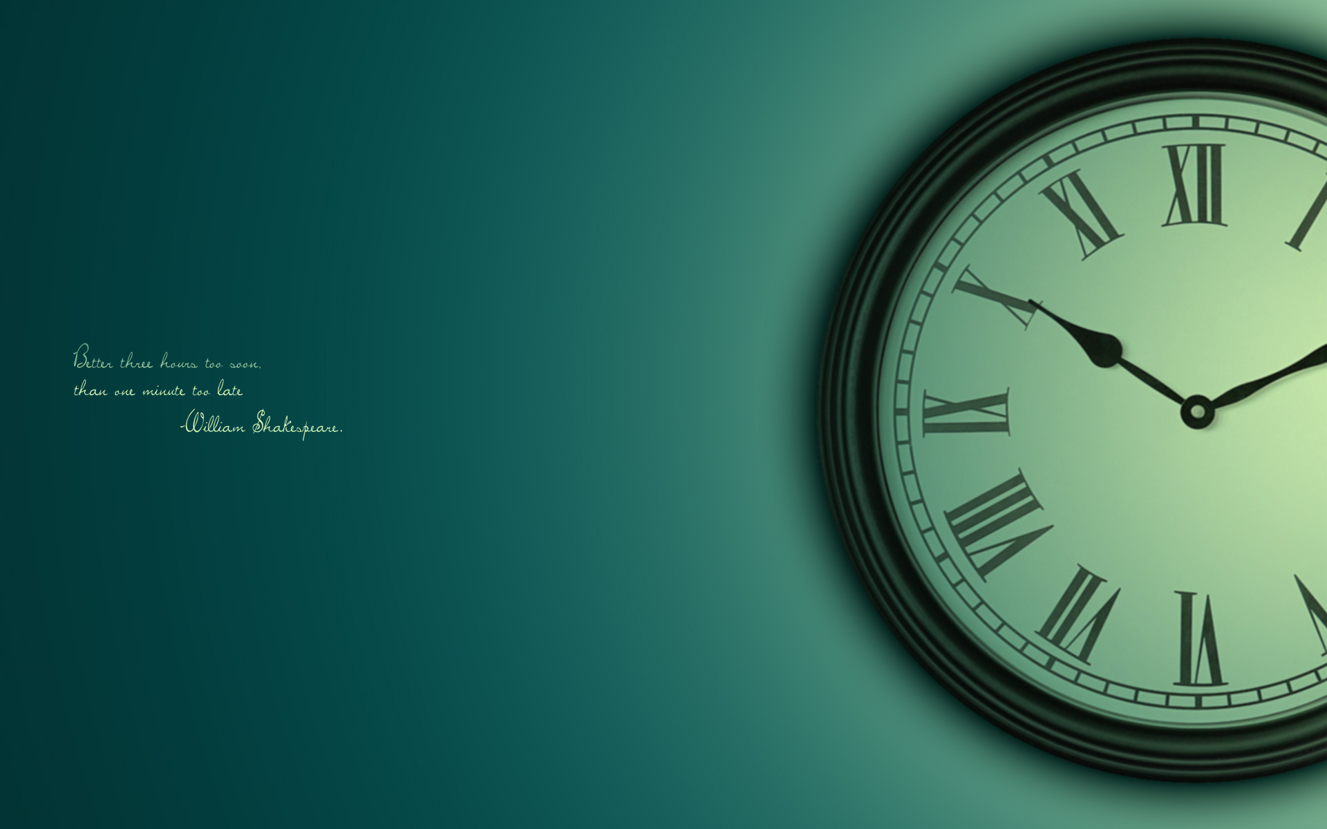 Clock Wallpaper 1
