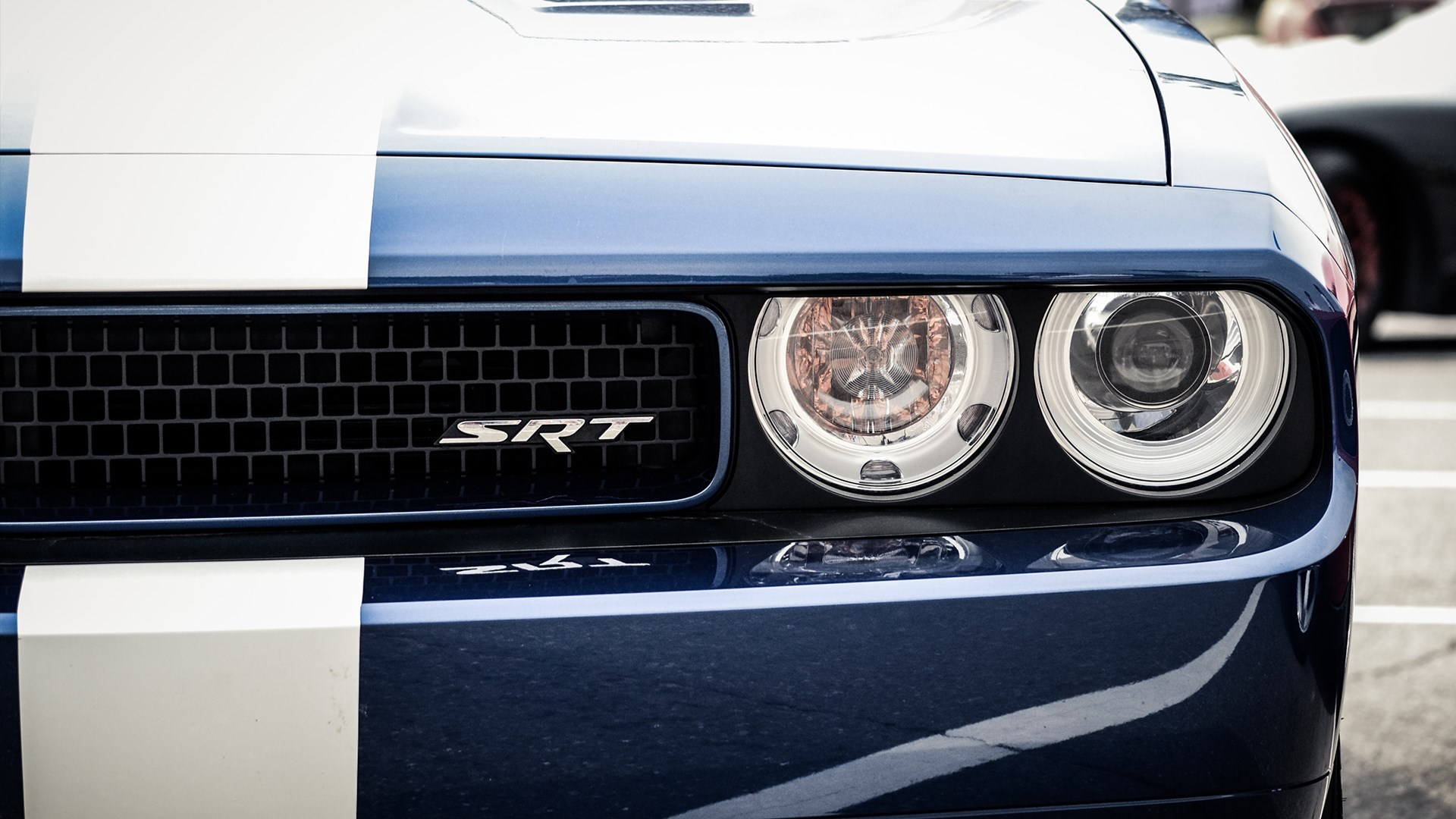 Close-Up Dodge Challenger SRT