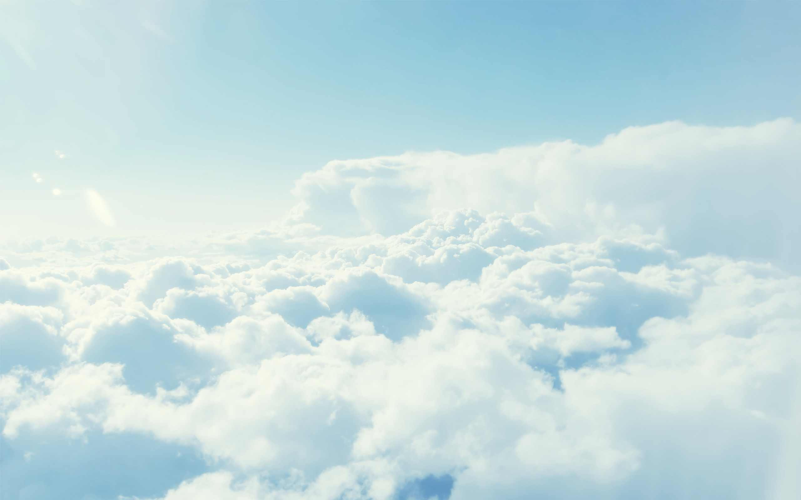 Clouds Res: 2560x1600 / Size:108kb. Views: 89071. More Sky wallpapers