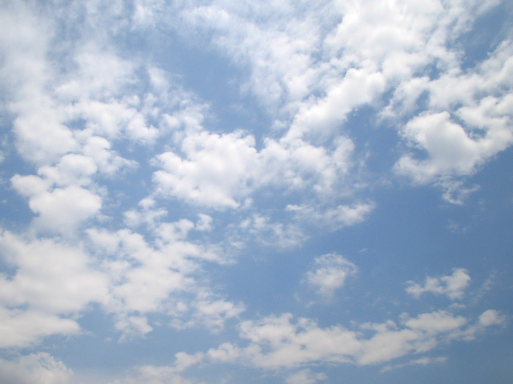 Cloudy Sky 02 free CC0 photo