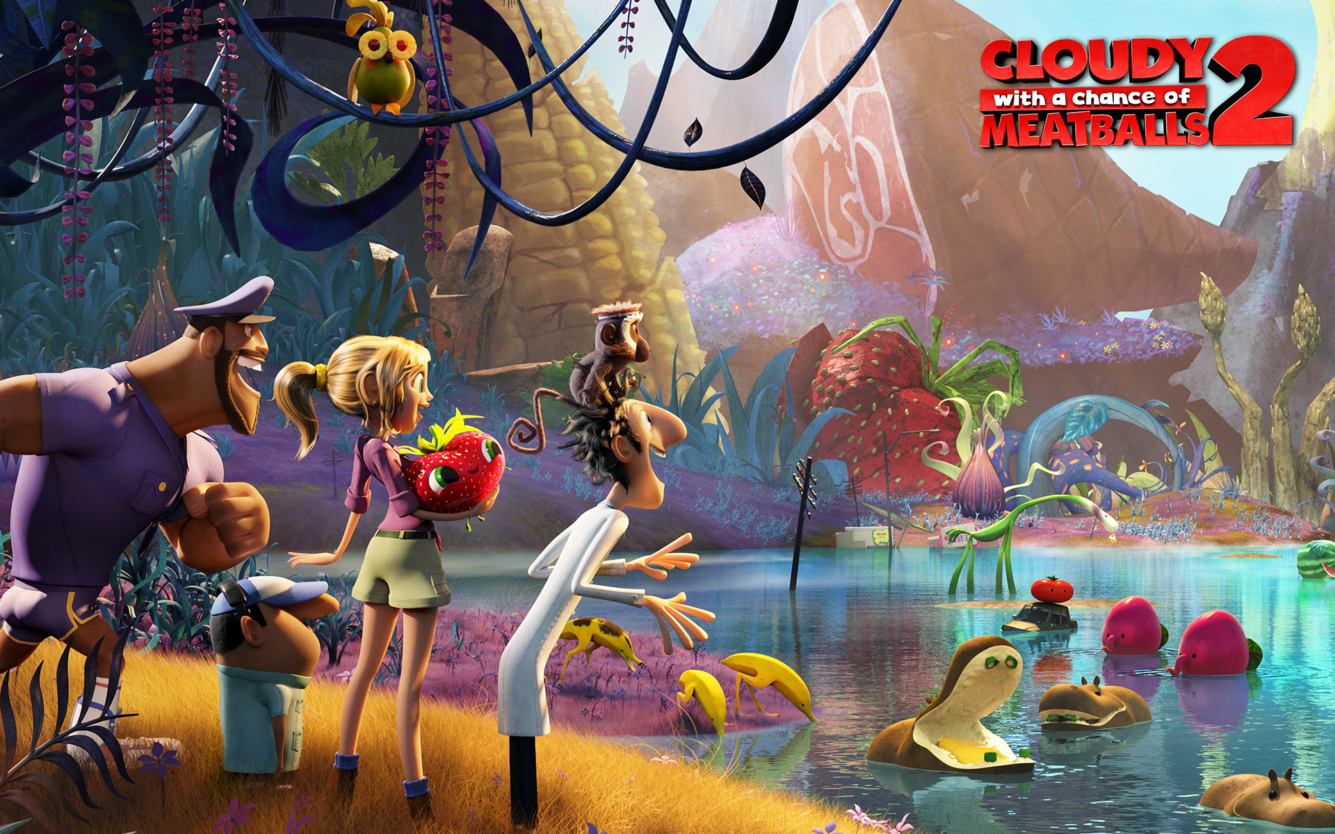Cloudy with a chance of meatballs 2 hd