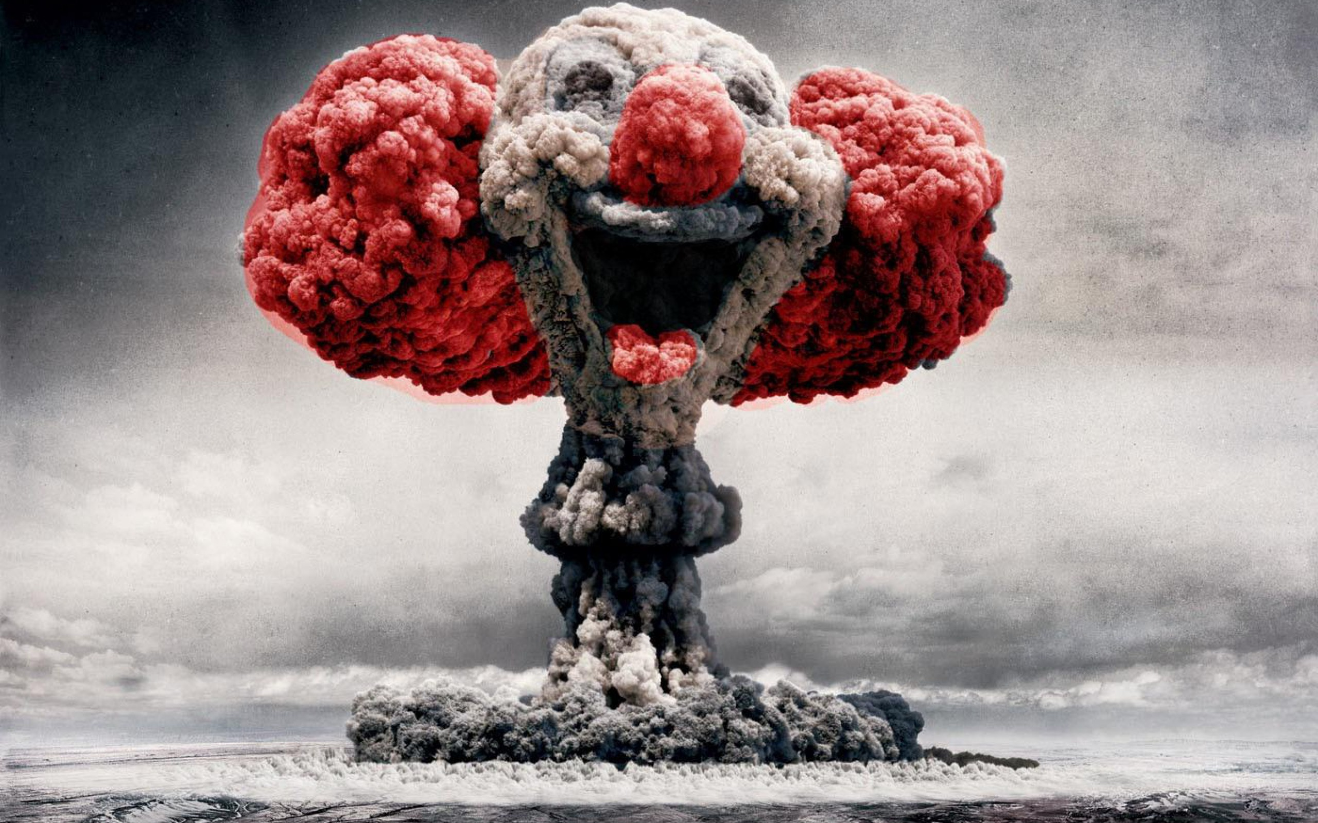 Clown Mushroom Cloud