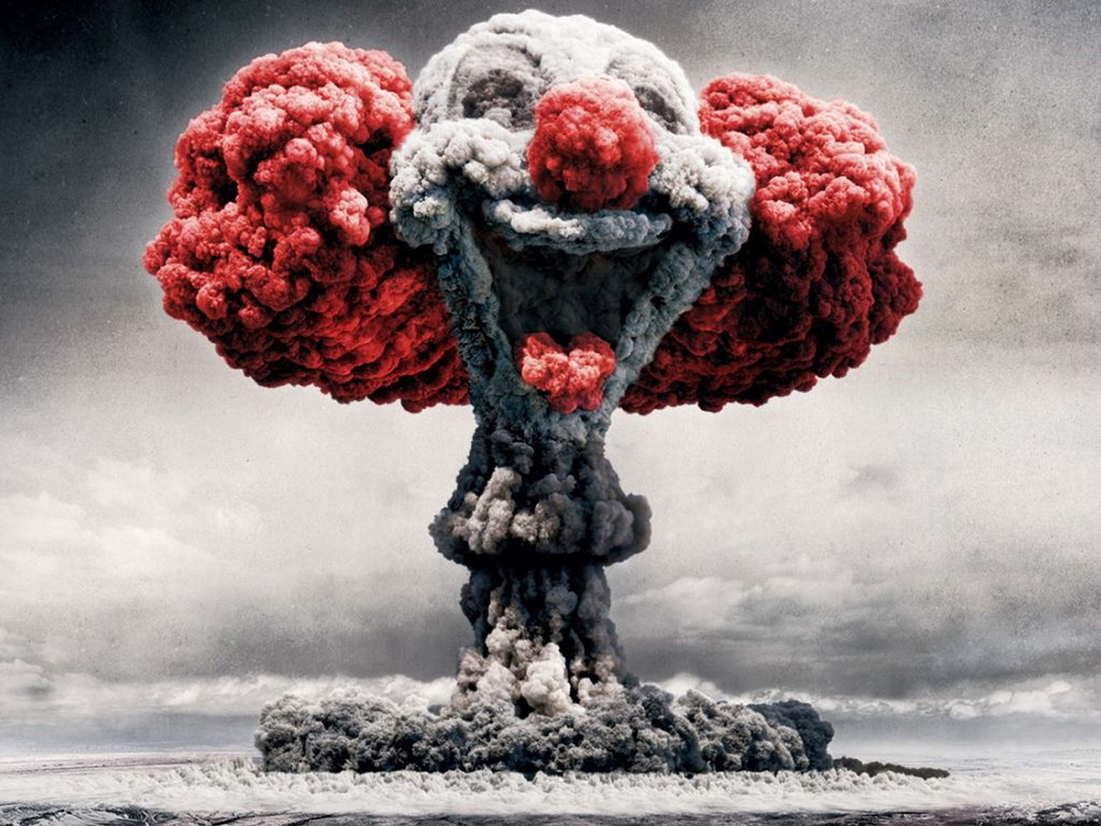 Atomic Bomb Clown