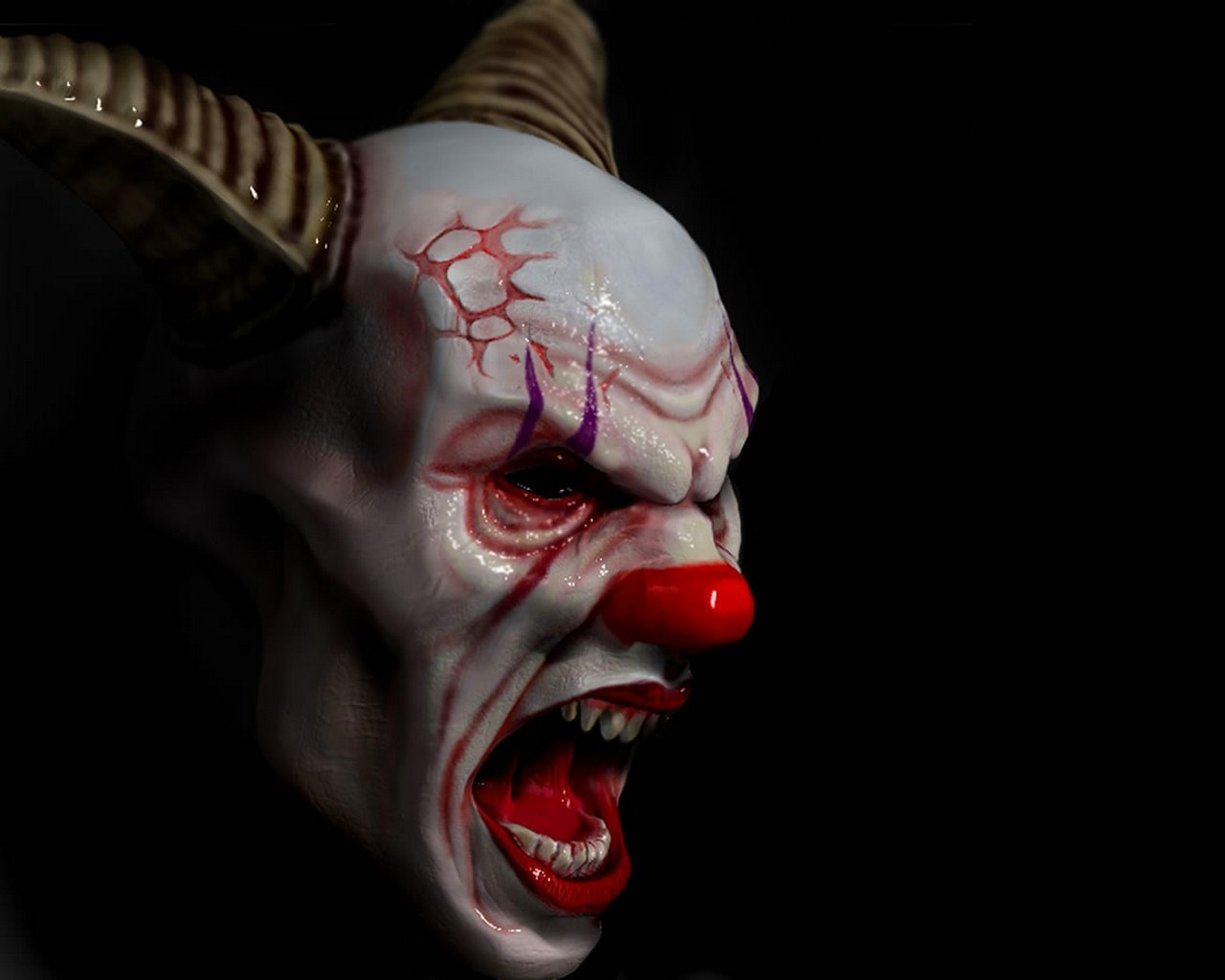 HD Wallpaper | Background ID:271894. 1280x1024 Dark Clown