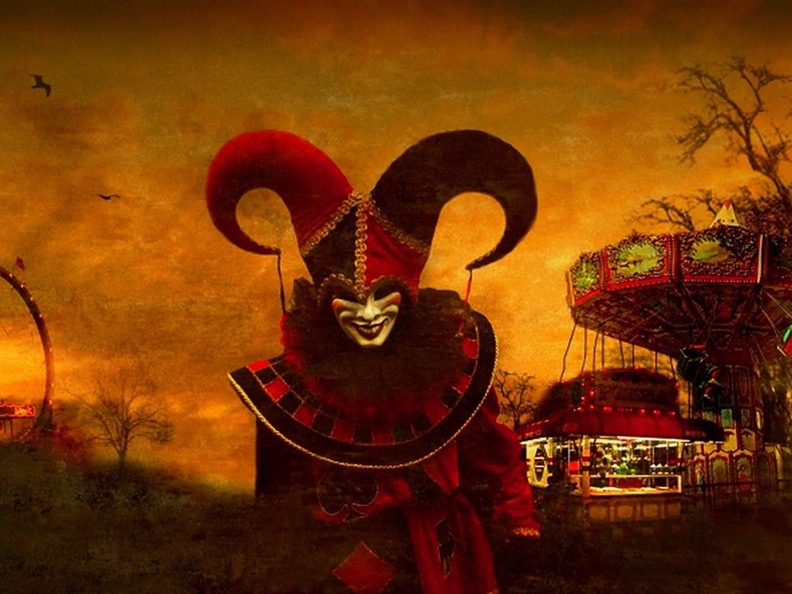 ... Clown Wallpaper ...