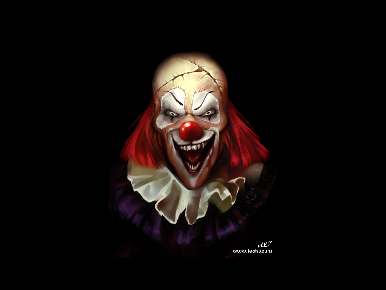 Wallpapers for Gt Evil Clown Wallpaper 1600x1200px