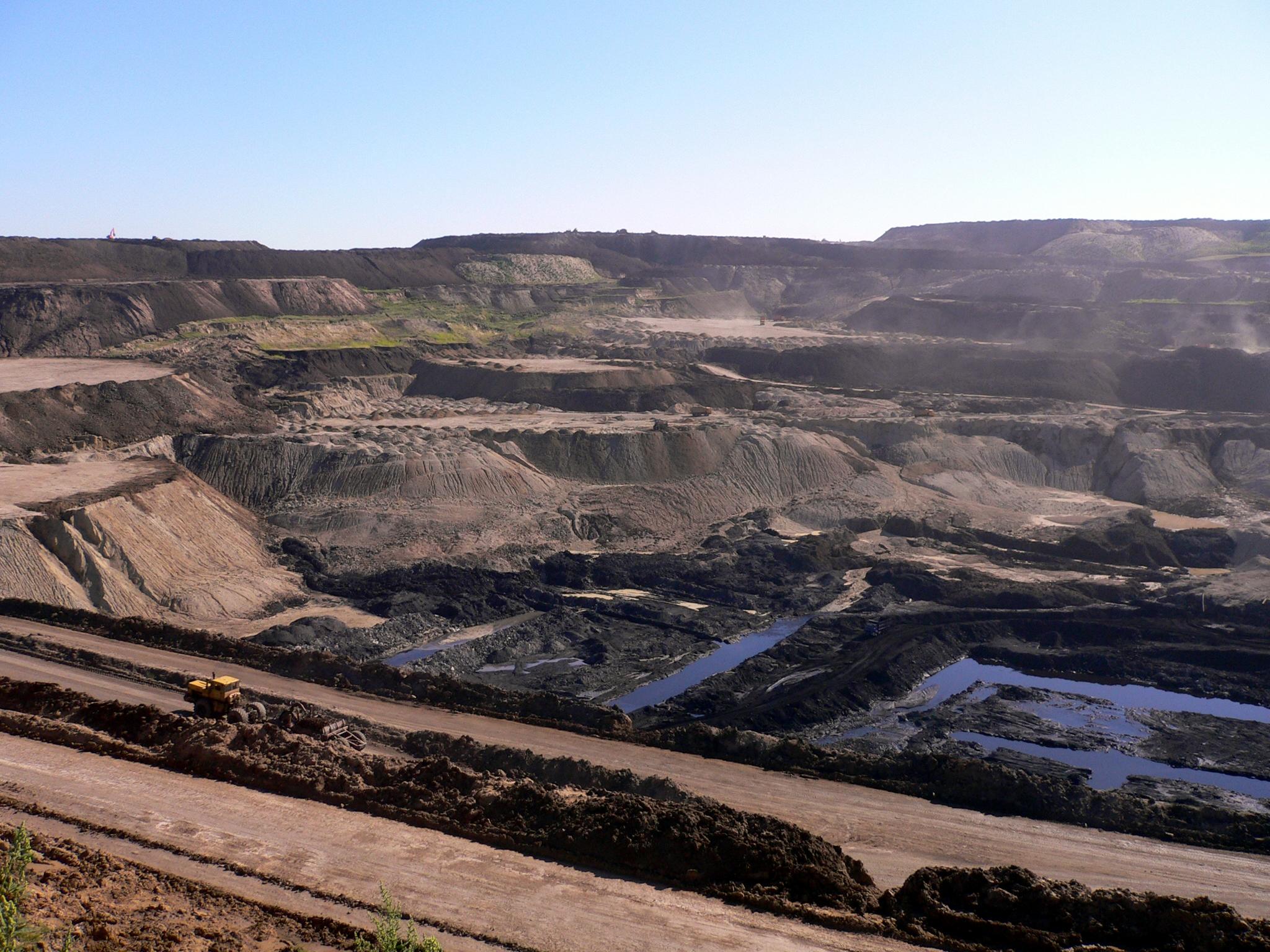 Coal mine in China