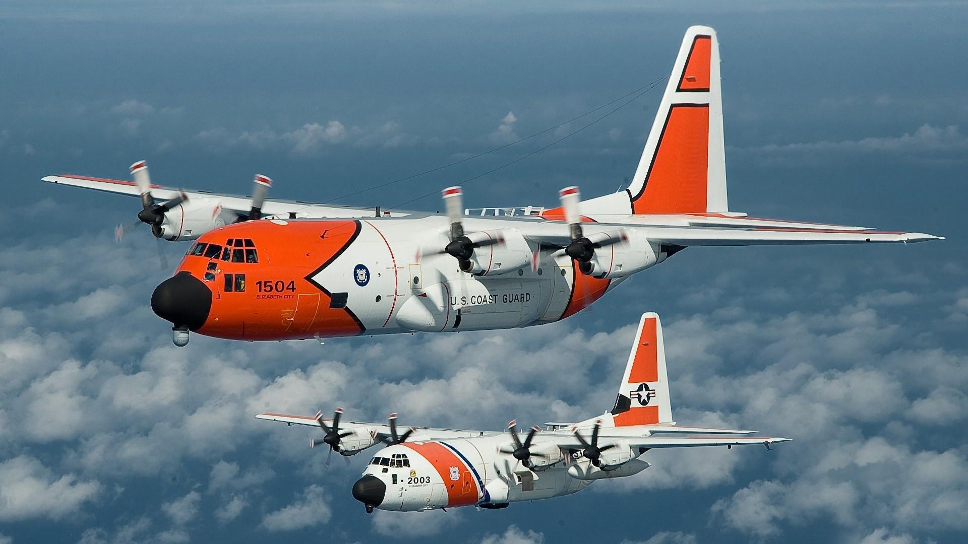 C-130 Hercules Lockheed C-130 Hercules US Coast Guard aircraft
