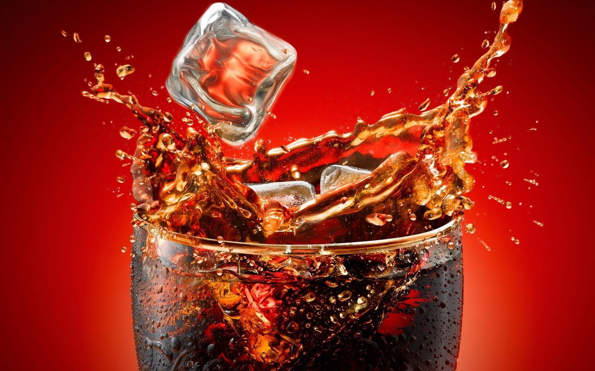 Coca cola ice