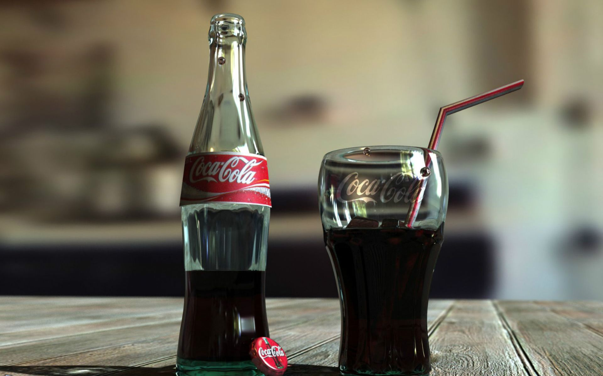Coca-Cola Drink Bottle