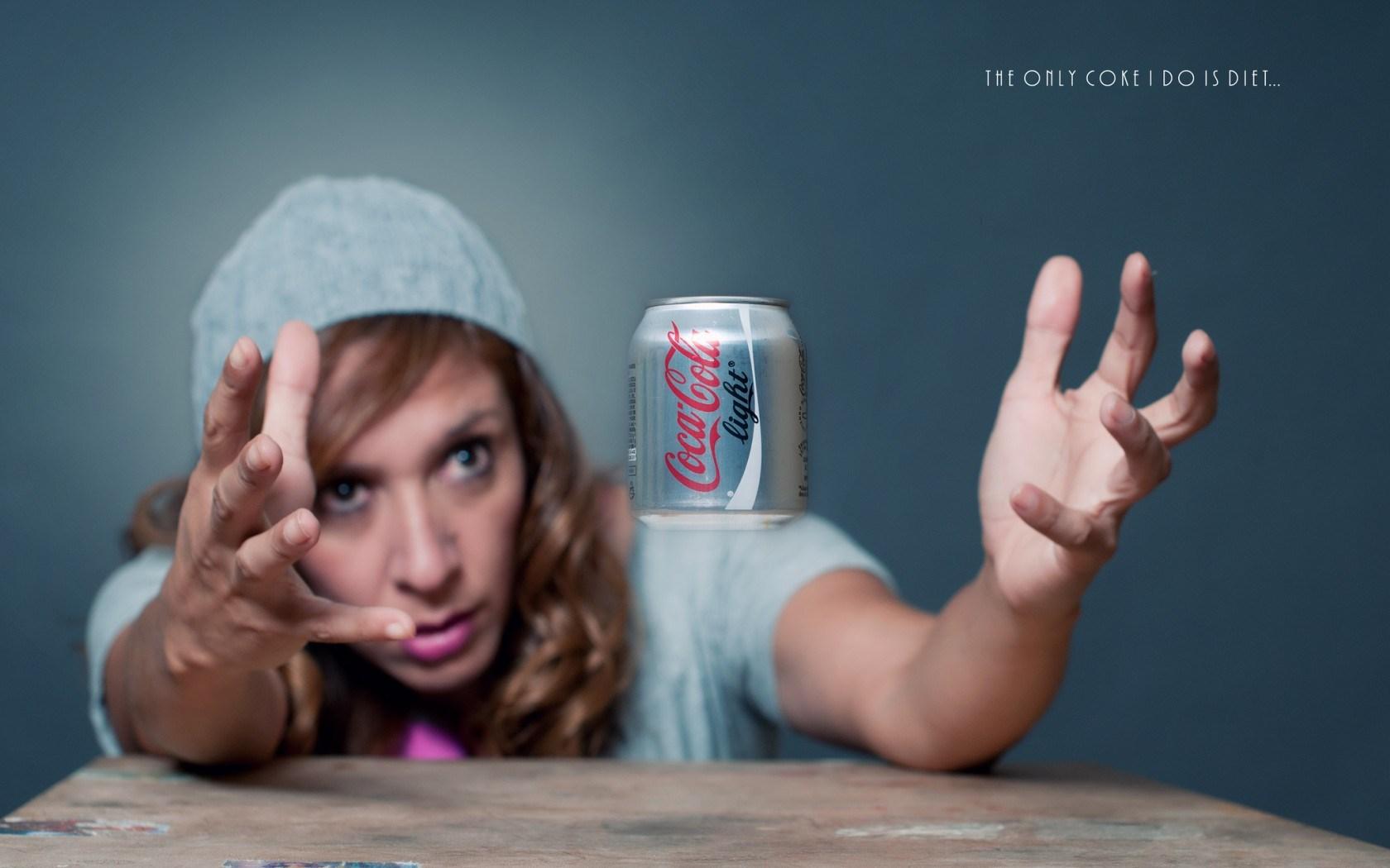 Coca Cola Light Girl