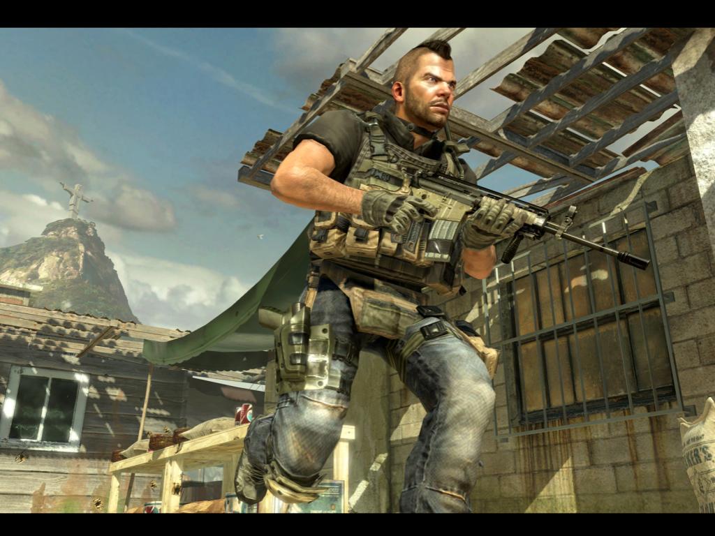 COD: MW2 Gameplay – Mohawk Man