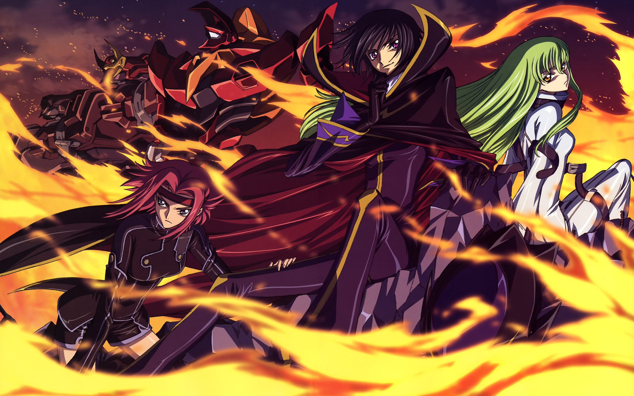 2560x1600 Anime Code Geass