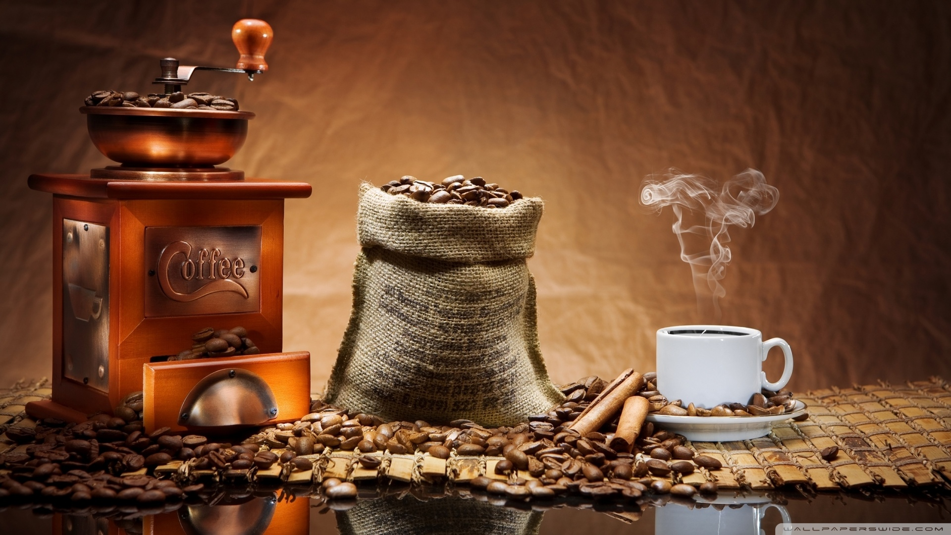 Coffee Beans Grinder Wallpaper