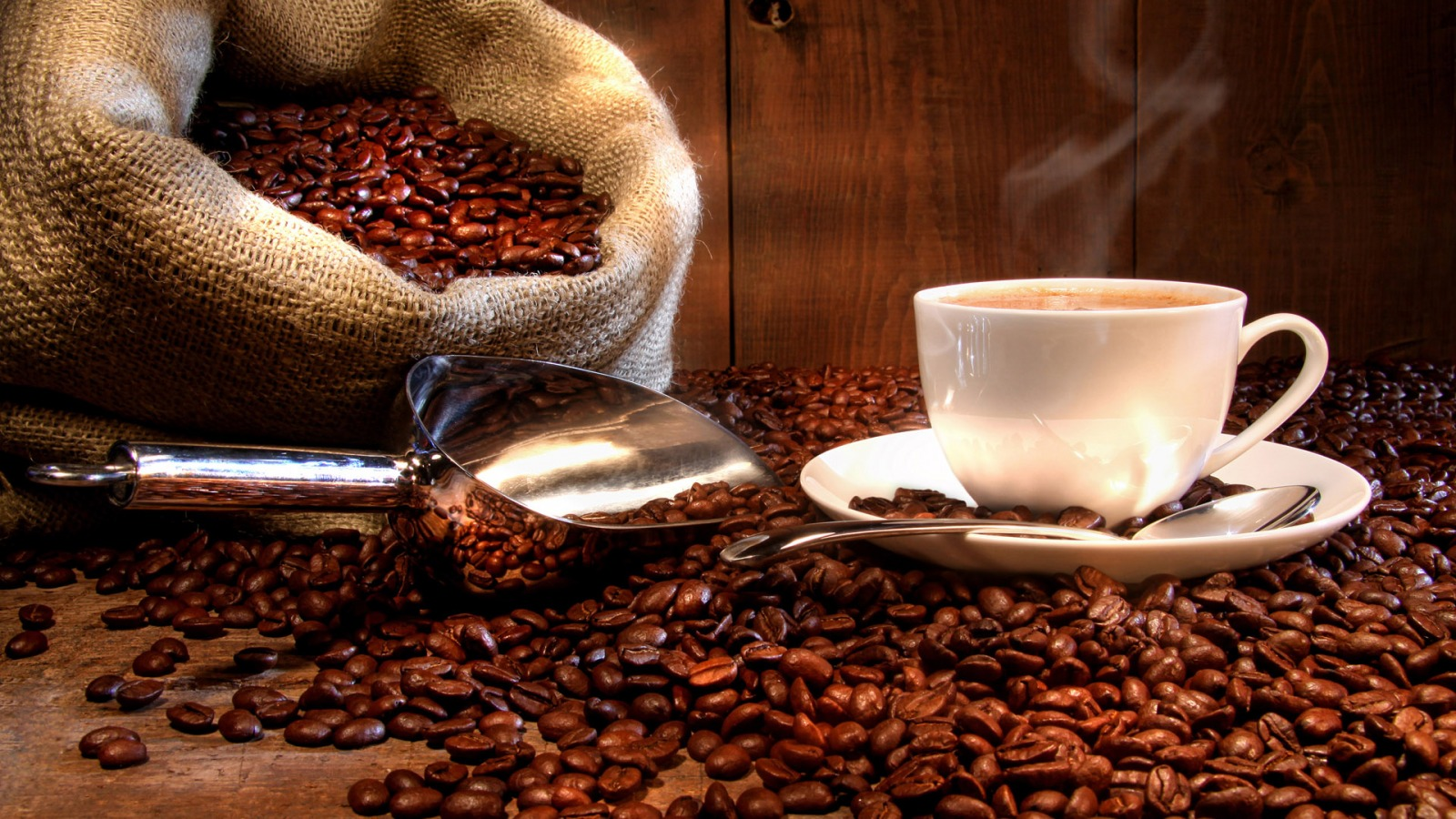 Coffee Beans Wallpaper 1 ...