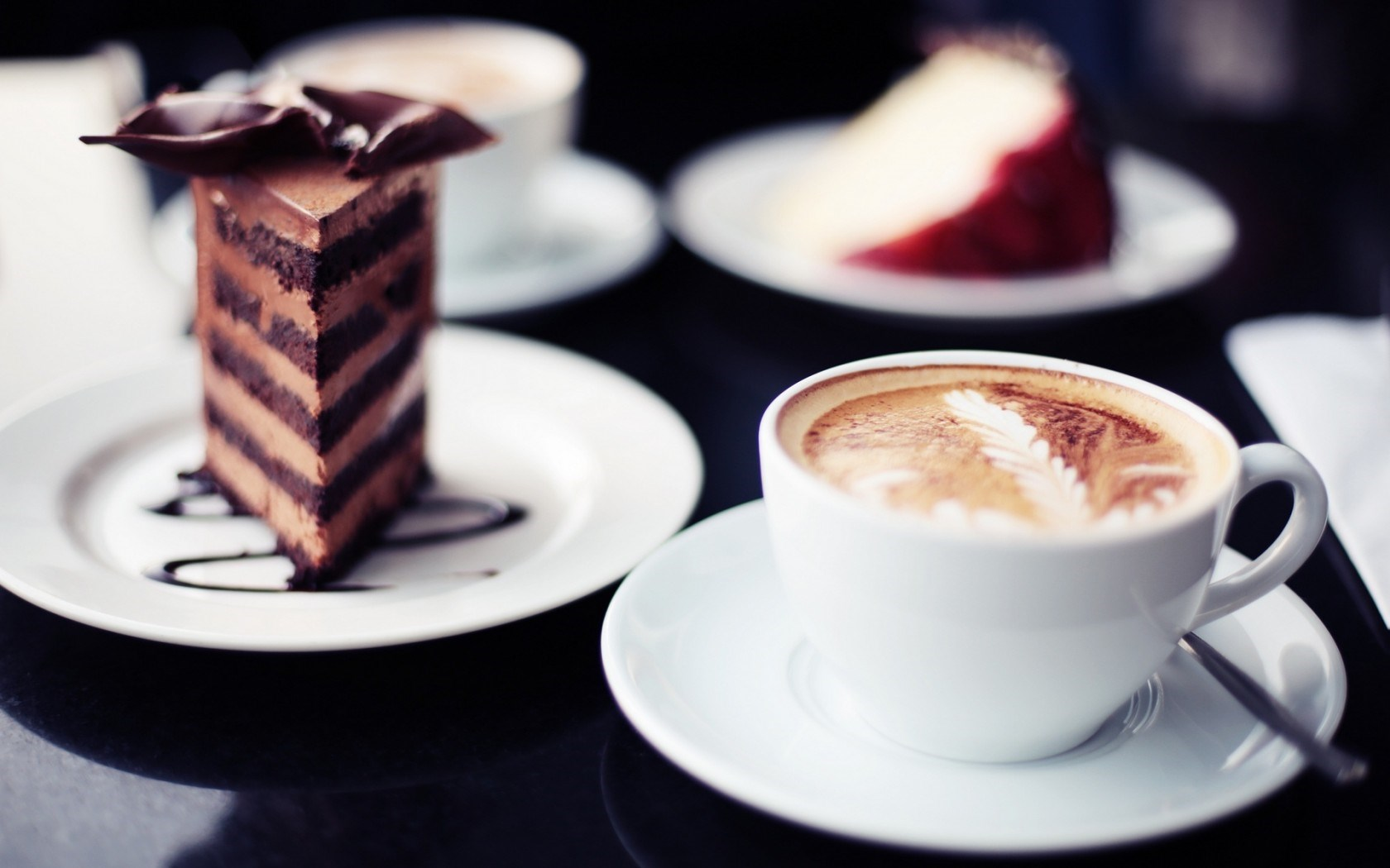 Coffee Cup Piece of Cake