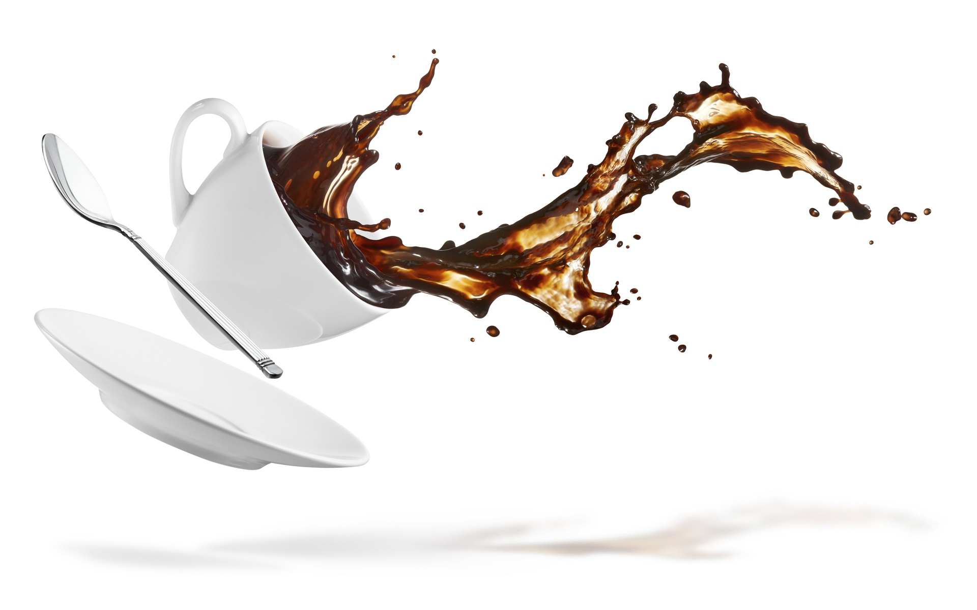 Coffee Cup Splash