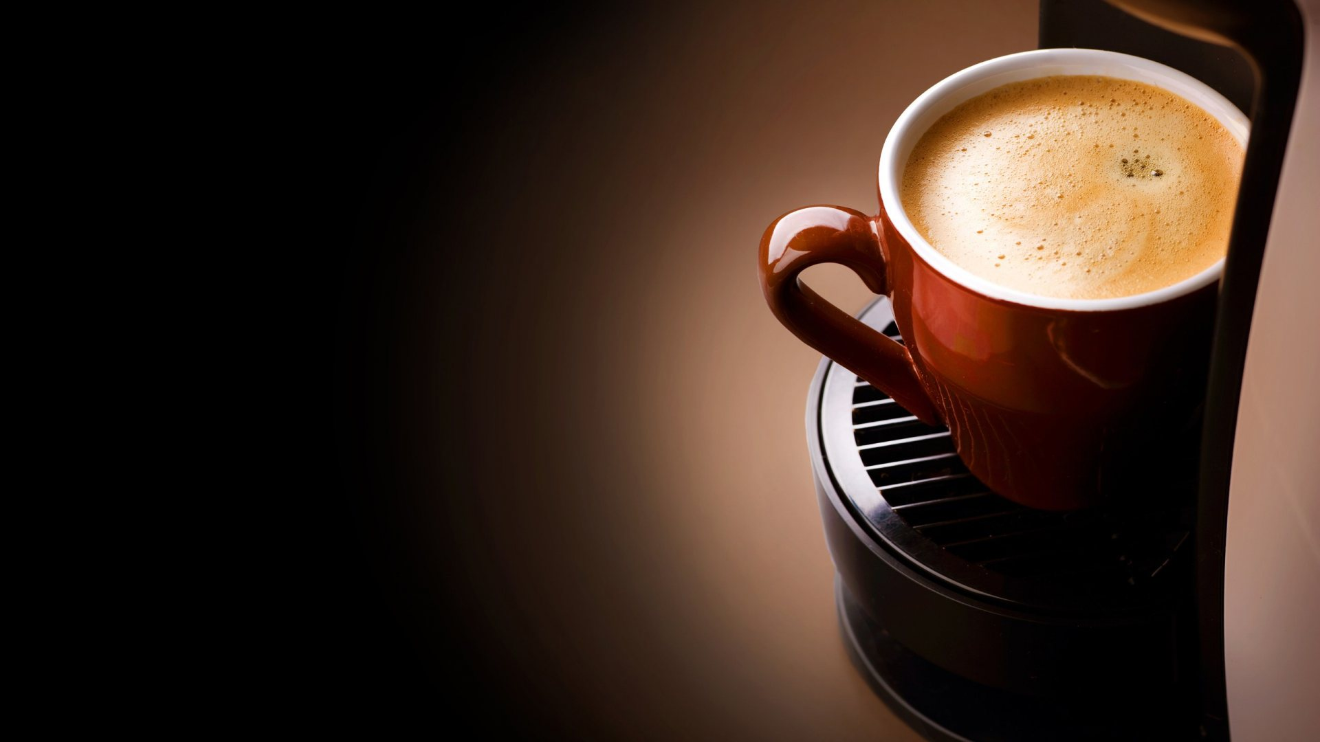 Coffee cup close up wallpaper