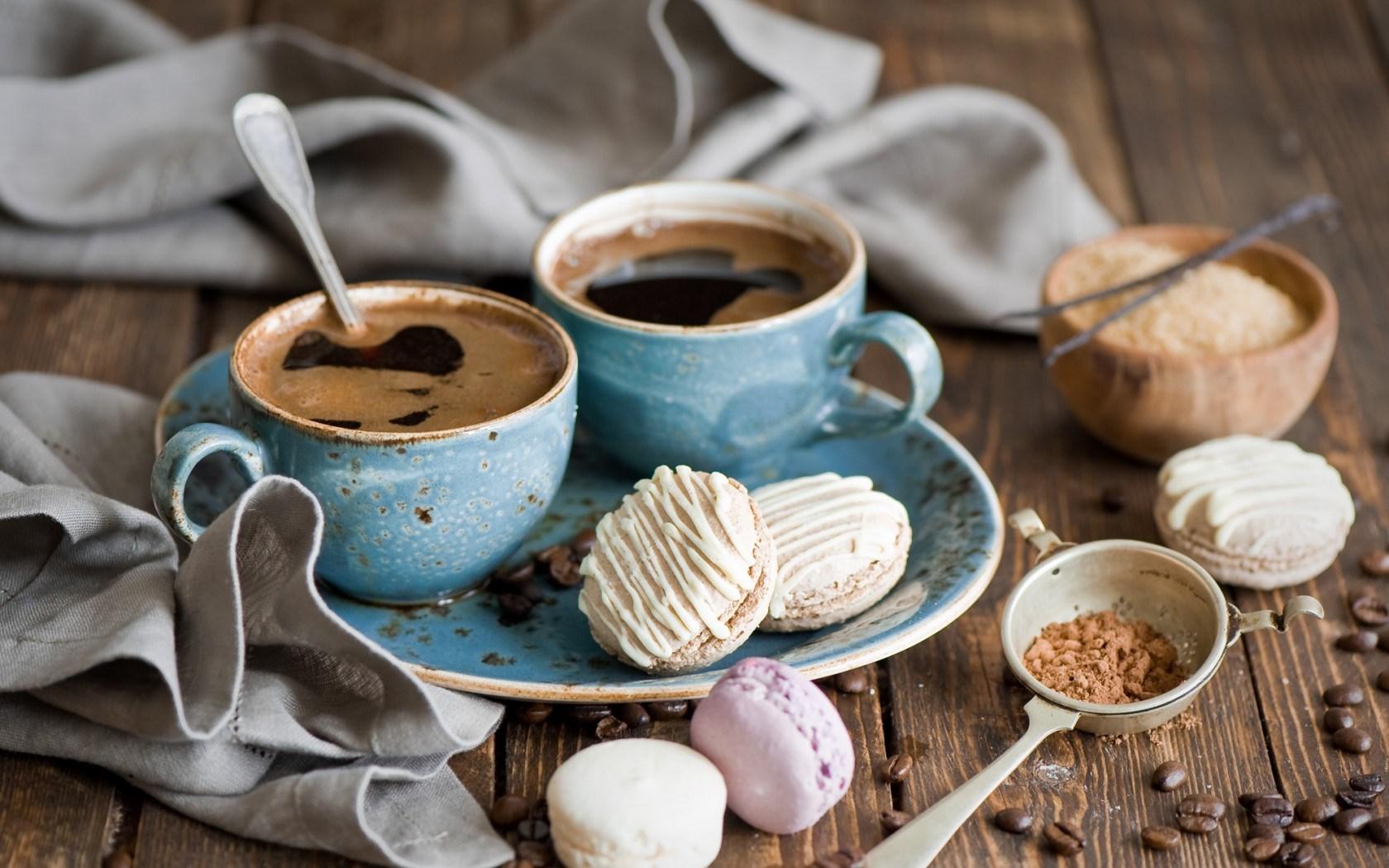 Coffee Grains Cookies Dessert Cups