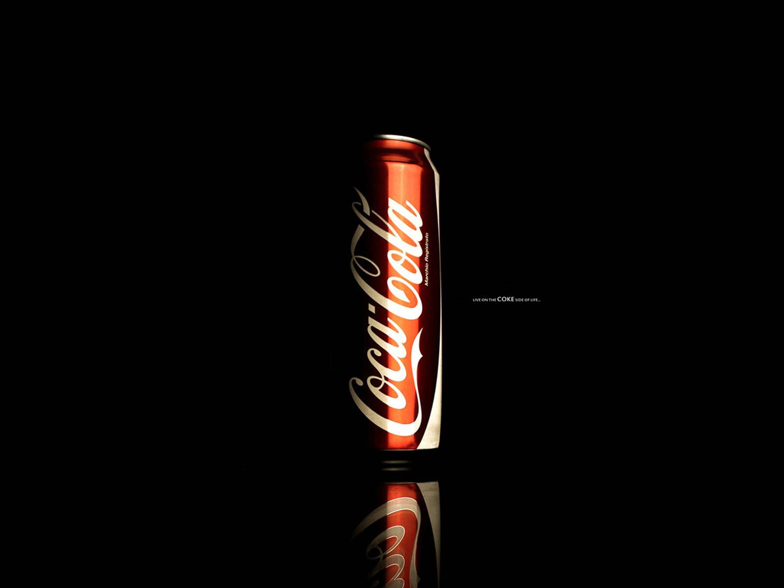 Black Coke Wallpaper Backround