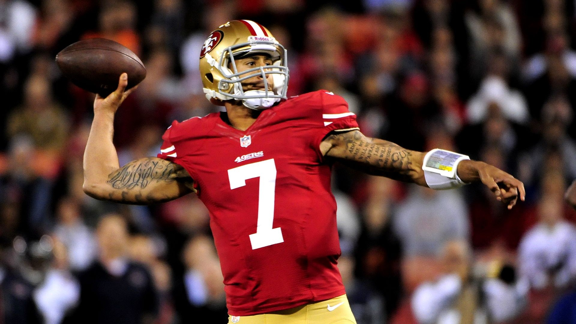 Colin Kaepernick Football