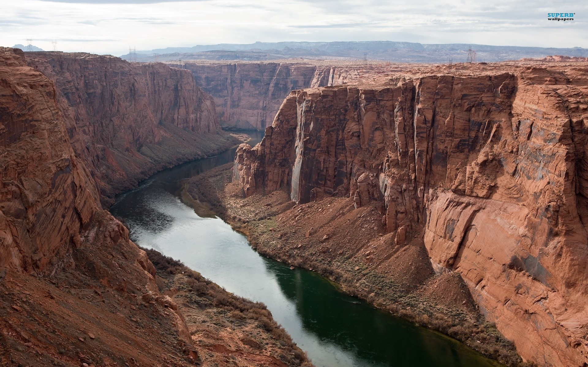 Colorado River wallpaper 1920x1200