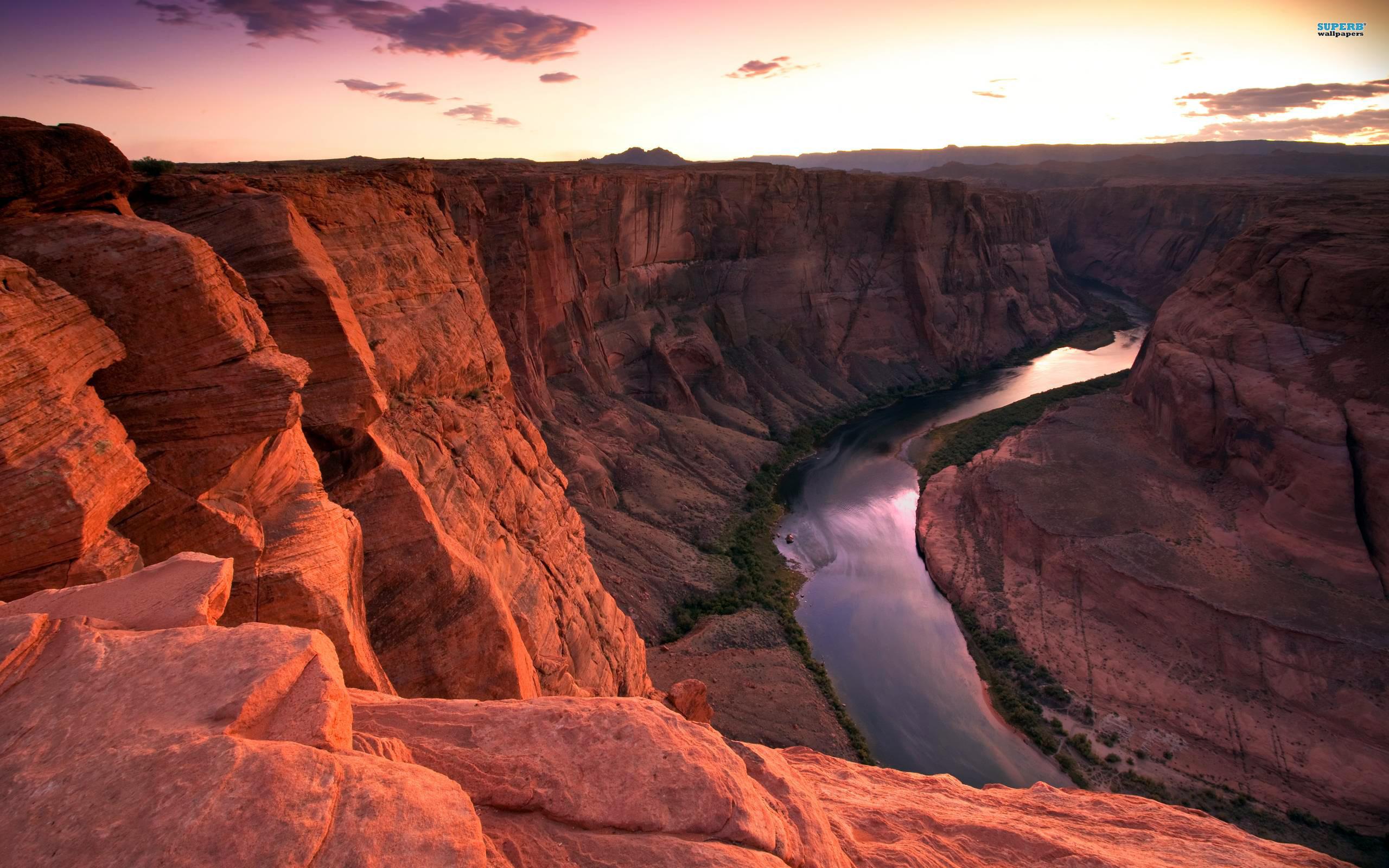 Colorado River wallpaper 2560x1600