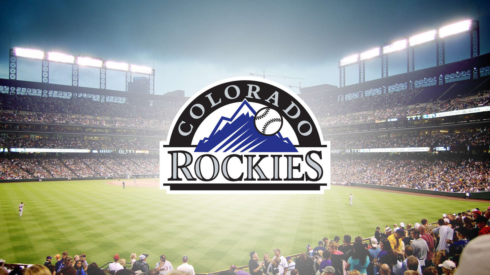 Colorado Rockies Logo Stadium HD Wallpaper