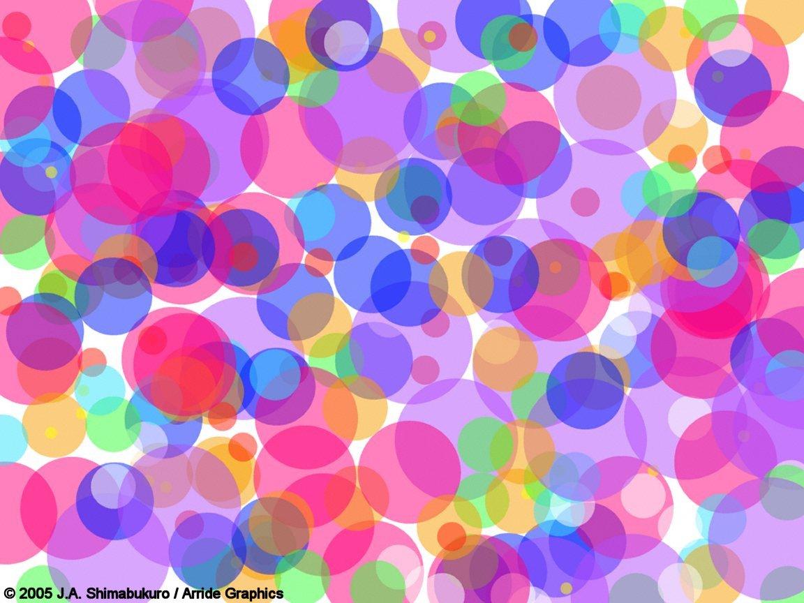 Colored bubbls