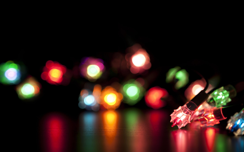 Colored decoration light