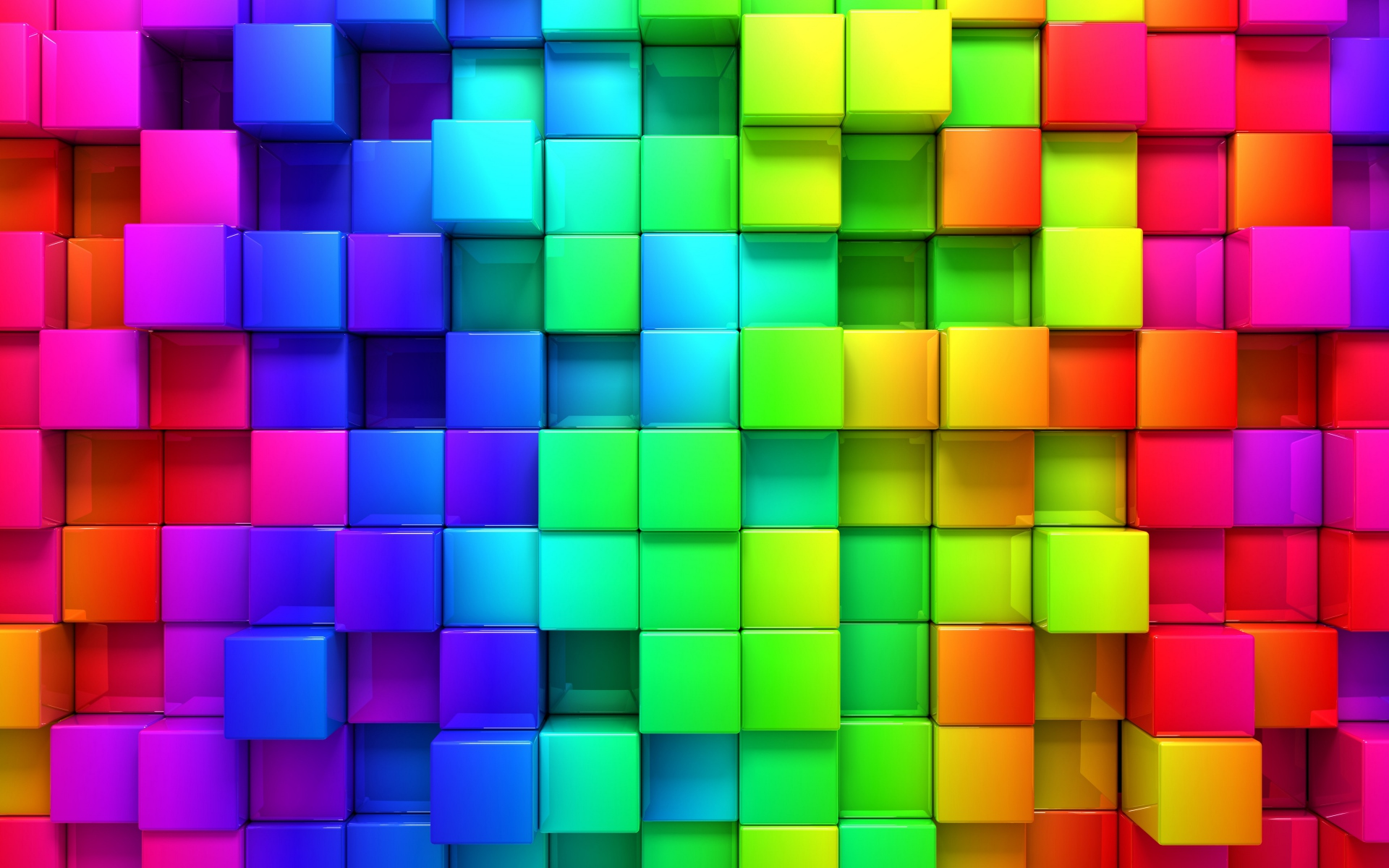 Colorful 3D Background